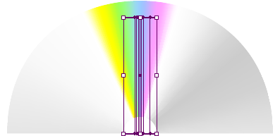 Horizontal Arc Warp by 100%