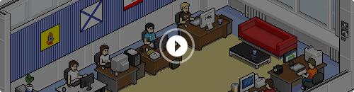 Start Turbomilk Pixel Office Movie
