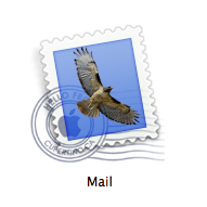Mail icon in Mac OS