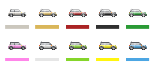 United Colors of Mini Cooper