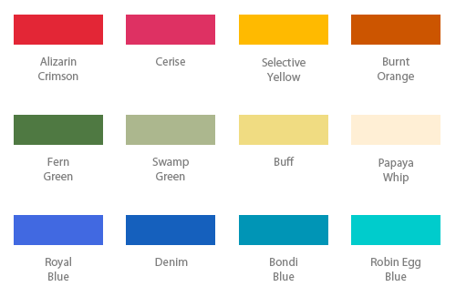 Fancy Color Names