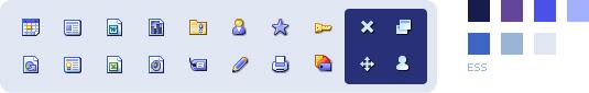 ESS icons