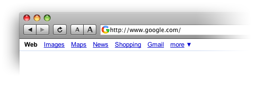 Alternative Google favicon