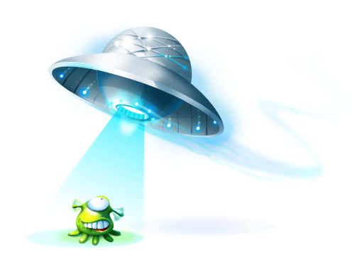 Slug and UFO